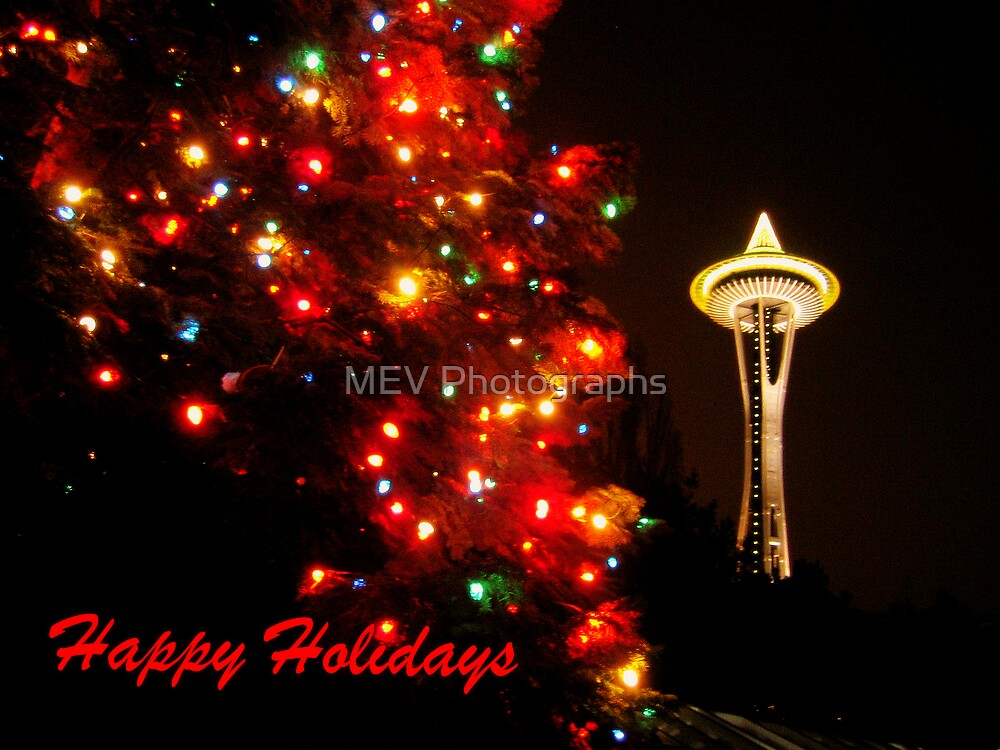 Happy Holidays by MEV Photographs