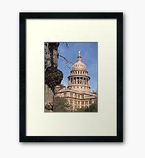 Texas Capital  Framed Print