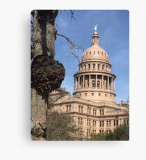 Texas Capital  Canvas Print