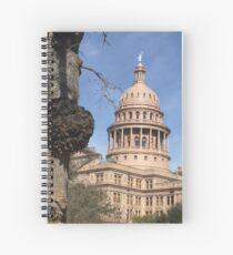 Texas Capital  Spiral Notebook