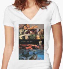 Roxy Musikalben Shirt mit V-Ausschnitt