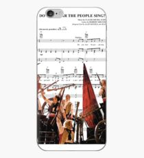 Do You Hear the People Sing - Les Miserables iPhone Case