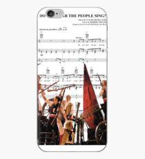 Hörst du die Leute Sing - Les Miserables iPhone-Hülle & Cover