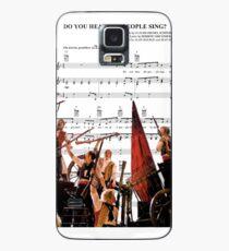 Funda/vinilo para Samsung Galaxy ¿Oyes a la gente cantar? Les Miserables