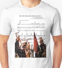 Camiseta ajustada ¿Oyes a la gente cantar? Les Miserables