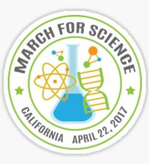 March for Science California Sticker