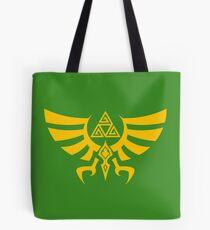 Triskele Triforce - Crest of Hyrule - Legend of Zelda Tote Bag