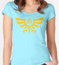 Triskele Triforce - Crest of Hyrule - Legend of Zelda Fitted Scoop T-Shirt
