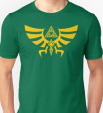 Triskele Triforce - Crest of Hyrule - Legend of Zelda Unisex T-Shirt
