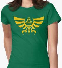Triskele Triforce - Crest of Hyrule - Legend of Zelda Fitted T-Shirt