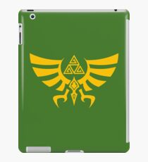 Triskele Triforce - Crest of Hyrule - Legend of Zelda iPad Case/Skin