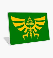 Triskele Triforce - Crest of Hyrule - Legend of Zelda Laptop Skin
