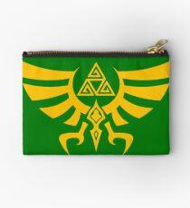 Triskele Triforce - Crest of Hyrule - Legend of Zelda Zipper Pouch