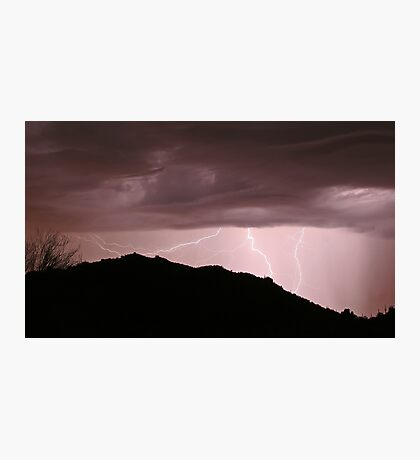 Desert Strikes Photographic Print