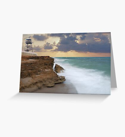 Refuge Point Lookout Greeting Card