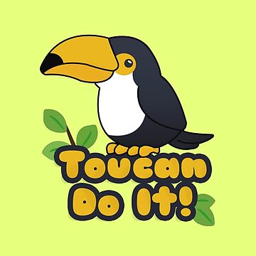 Toucan Do It! by revoltz