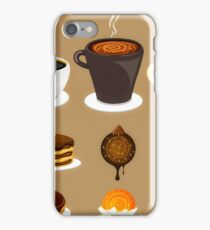 Dessert Time Collection Flat Designs iPhone Case/Skin
