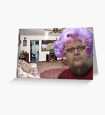 Grandma Casket Greeting Card