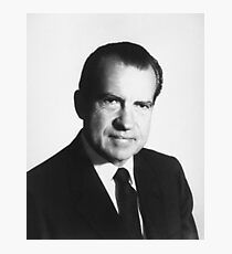 President Richard Nixon Portrait Photographic Print