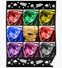 """Yuri Gagarin """"Außerirdischer"""" Poster"""