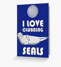 Seal Clubbing Greeting Card