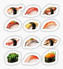 Pegatina Nigiri, por favor: ¡el menú de sushi que puedes llevar!