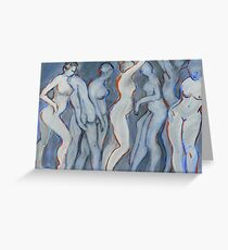 Dancers by Seven Greeting Card