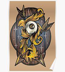 Filigree Eye  Poster