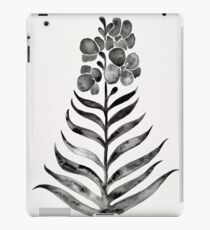 Blooming Black Orchid iPad Case/Skin