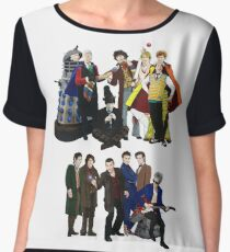 Doctor Who - The 13 Doctors II Chiffon Top
