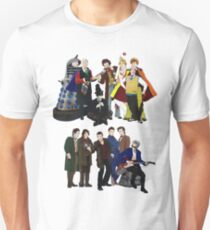 Doctor Who - The 13 Doctors II Unisex T-Shirt