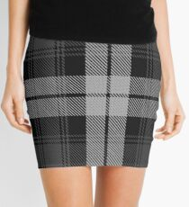 Laksaa (Manx) District Tartan  Mini Skirt