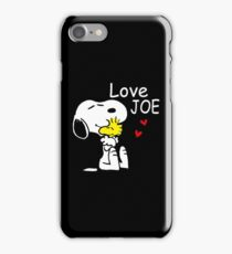 Love Joe iPhone Case/Skin