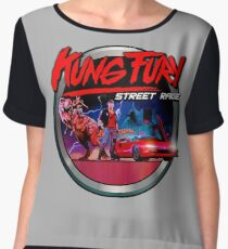 Kung Fury Chiffon Top