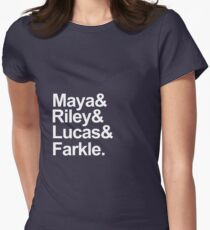 Girl Meets World characters-- White T-Shirt