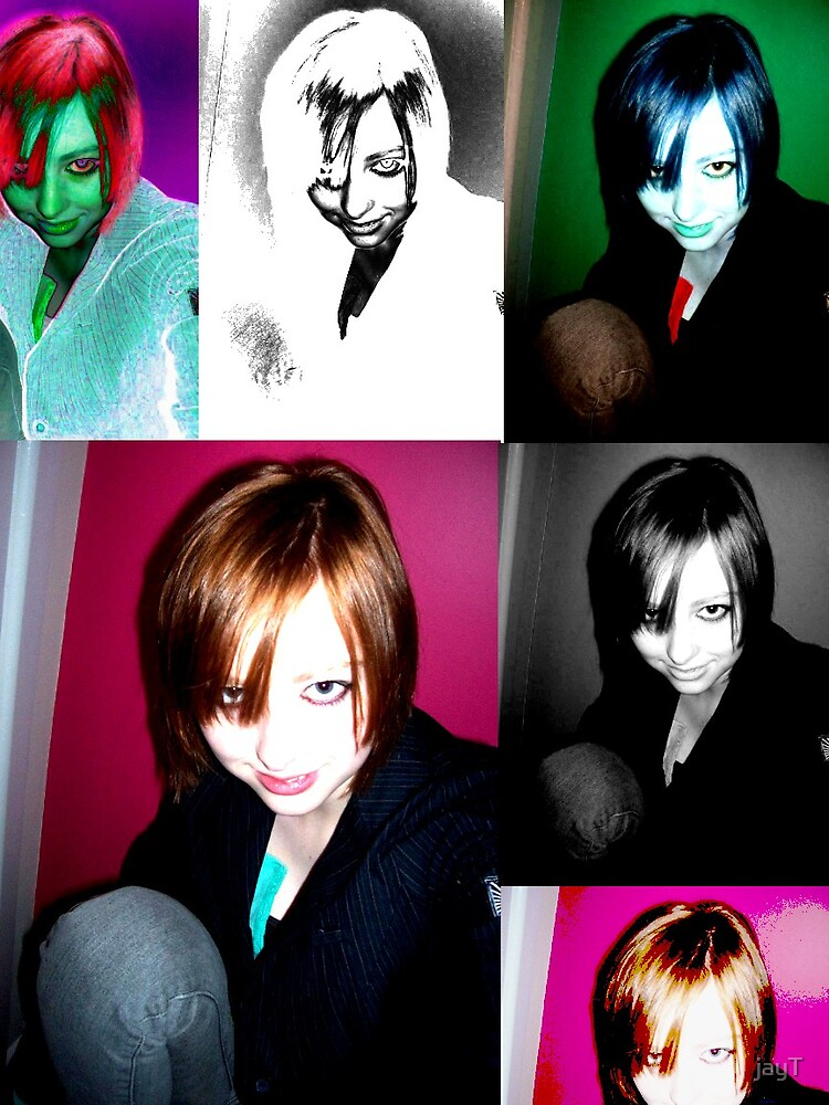 many personalities i hold by jayT