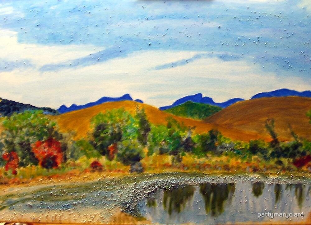Bragg Creek Pond by pattymaryclare