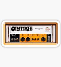 Orange color amp amplifier Sticker