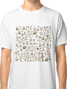 Coffee Doodles Classic T-Shirt