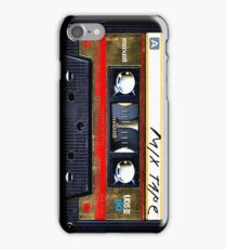 Gold Mix cassette tape iPhone Case/Skin