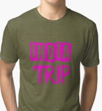 India Trip Tri-blend T-Shirt