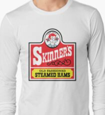 Skinner's Old Fashioned Steamed Hams Long Sleeve T-Shirt