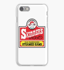 Skinner's Old Fashioned Steamed Hams iPhone Case/Skin