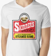 Skinner's Old Fashioned Steamed Hams -Alt Men's V-Neck T-Shirt