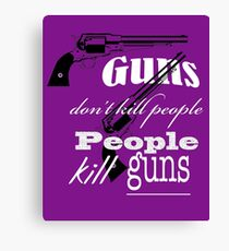 Guns Canvas Print