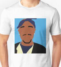 Minimalist Tupac Unisex T-Shirt
