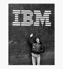 Steve Jobs IBM Photographic Print
