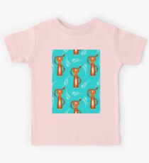 Tigers Pattern Design Kids Tee