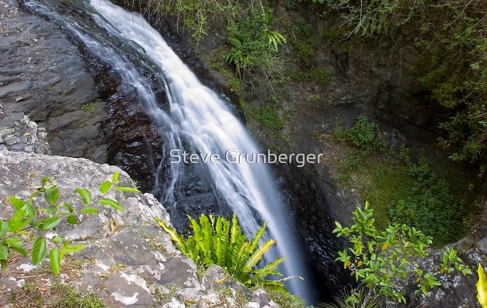 Natural Arch Waterfall by Steve Grunberger