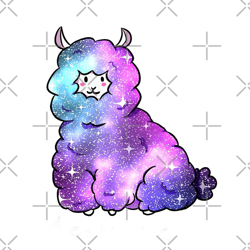 Quot Galaxy Alpaca Quot Photographic Prints By Vocaphilia Redbubble